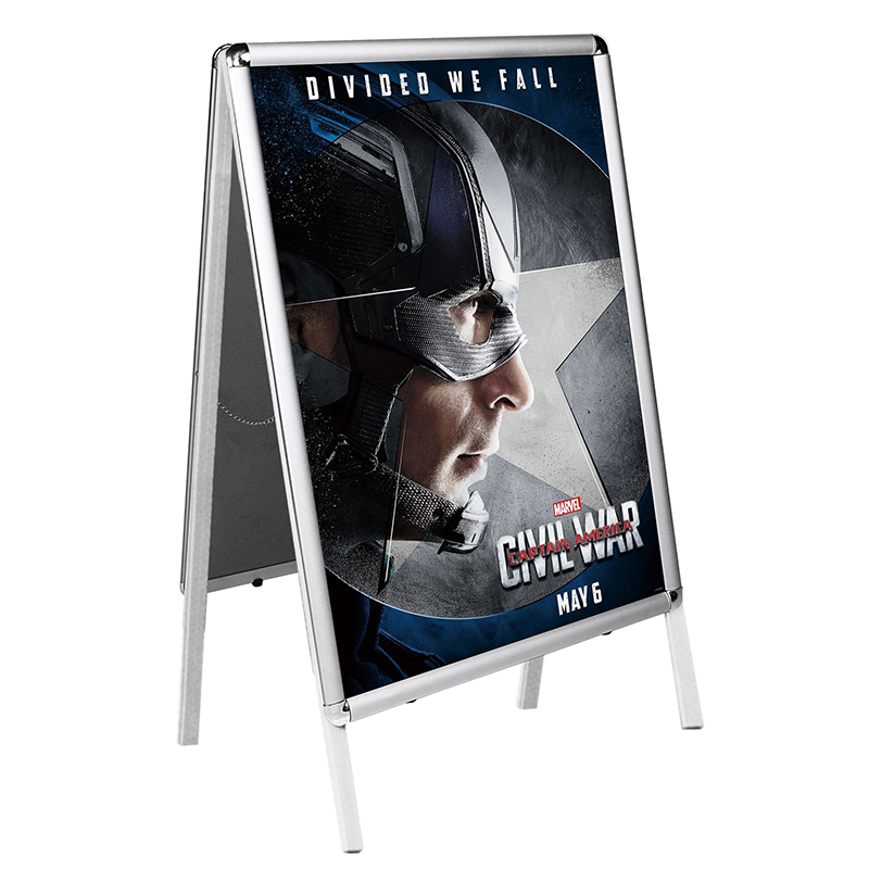 hot sale poster stander with aluminium frame for expo exhibition offices - Yola WhiteBoard | szyola.net