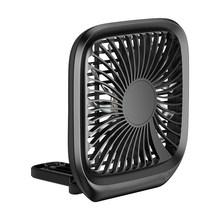 Baseus складной мини USB вентилятор для автомобильного заднего сиденья охлаждающий вентилятор портативный вентилятор воздушного охлаждения д...(Китай)