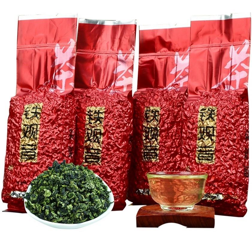 250g/bag vacuum packing Oolong Green Tea Fujian Oolong Tea Brands Tie Guan Yin Loose Leaf oolong tea - 4uTea | 4uTea.com