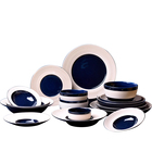 Perfect brand 2021 new arrival hotel restaurant ceramic plates bowls set