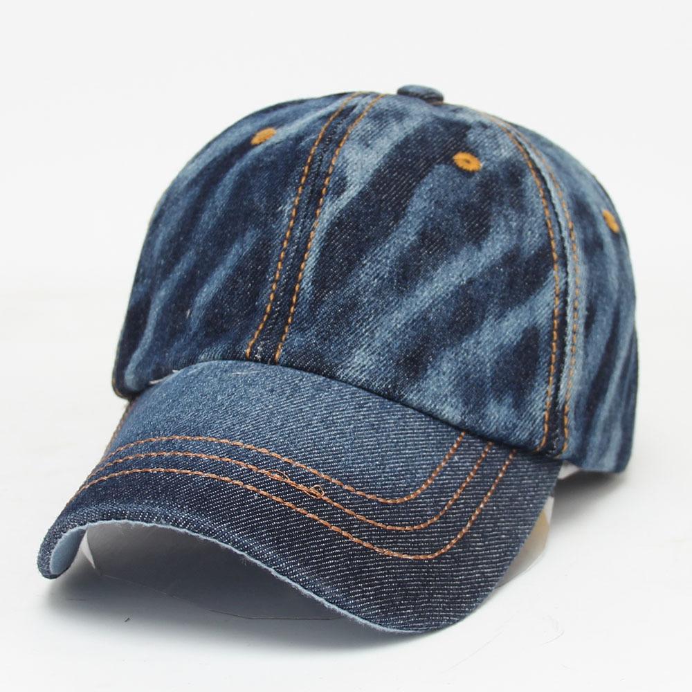 2021 Hot-sale Promotional sport Hat Wholesale Adult Plain Unisex OEM Style denim hat for women and men