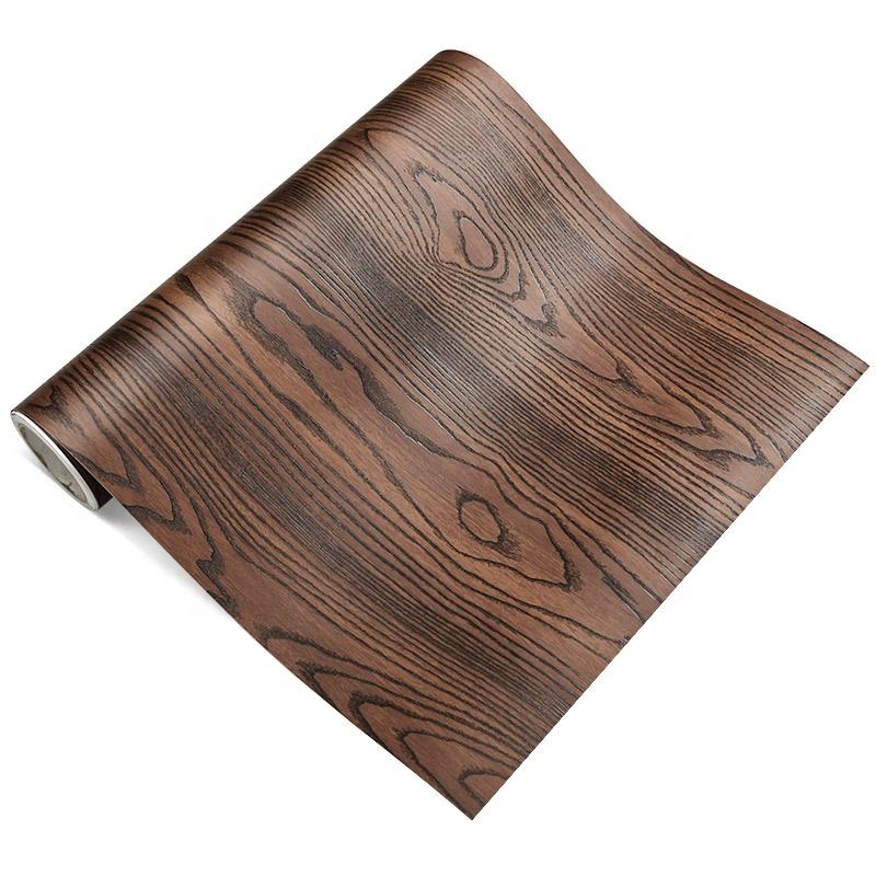 Заводская цена, новый дизайн, декоративная ламинированная пленка из ПВХ с текстурой древесины для мебели