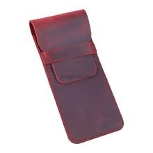 Ретро Кожаный Карандаш авторучка сумка чехол для хранения защитный рукав чехол Подарок(Китай)