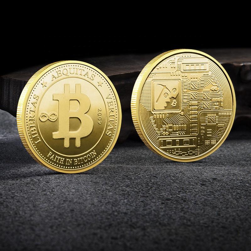 gold bitcoin coin)