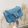 Blue Handbags Shoulder Messenger Bags