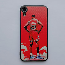 Chicago Bull 23 Jordans Мягкий силиконовый чехол для iPhone 11 SE2020 XR XSmax Basketball Star чехол для телефона Apple 11Pro 6 6S 7 8Plus(Китай)
