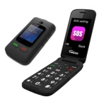 Classic 2G flip senior big keypad mobile phone dual sim easy to use one key sos for emergency