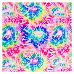 Summer Popular Double Brushed Poly fabric DTY Fabric tie dye style for headscarf