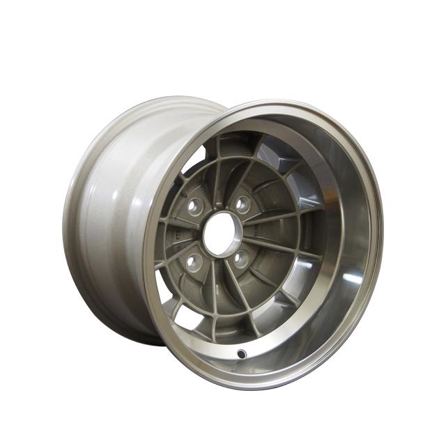 Taiwan aluminum 14 inch model black auto wheels for rallying