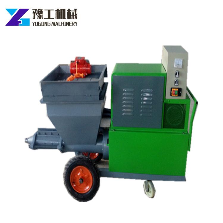 Раствор опрыскиватель цементный спрей для штукатурная машина бетона распылительный агрегат на продажу