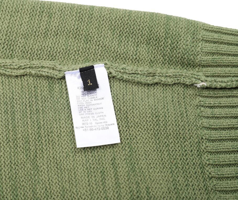 Custom make jacquard pattern cotton cashmere knitted wool crewneck sweater men