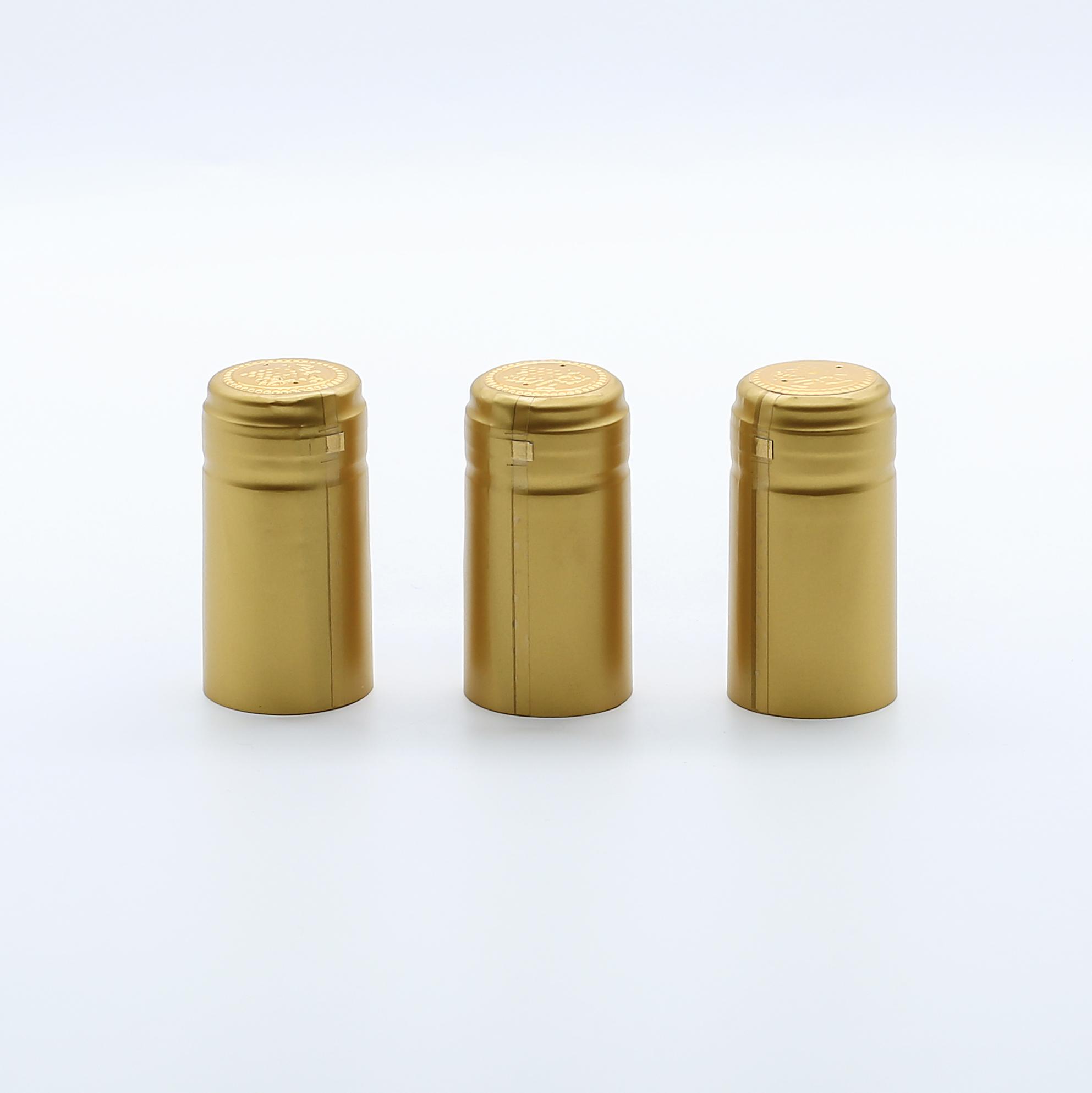 Термоусадочные капсулы из ПВХ с логотипом на заказ для винных бутылок, колпачки для капсул Красного вина