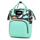 Multi-function Outdoor wholesale hot sale best green travel Baby nappy Diaper bag reviews panaleras backpack with Changing Pad