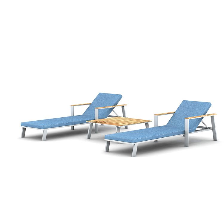 Шезлонг высокого качества, шезлонги для отдыха на открытом воздухе, бассейна