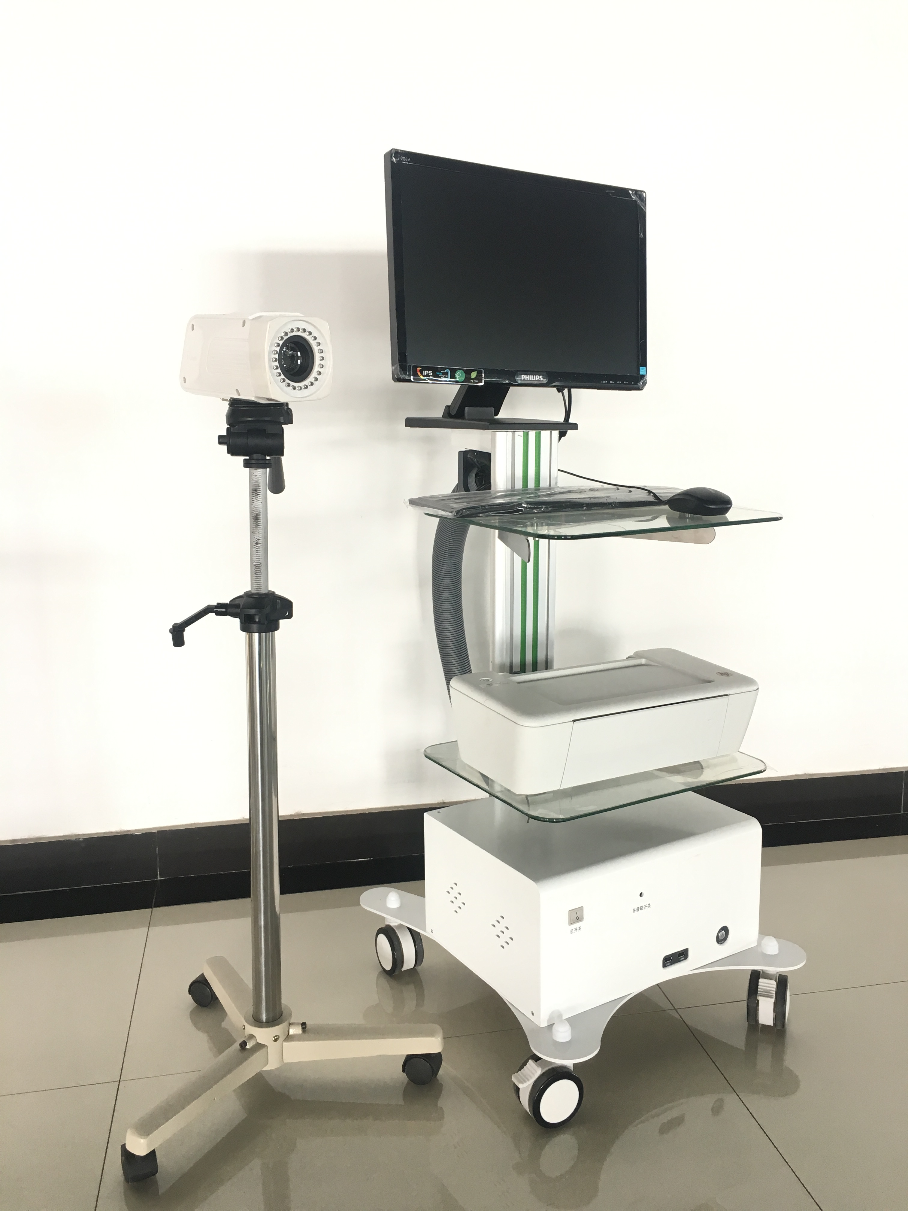 YSSW3303A CE marked optical digital colposcope for sale