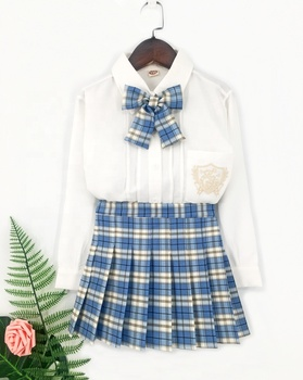 Japanese style soft fabric JK uniform primary school uniform designs