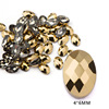 14# 4*6mm Net Oval Gold