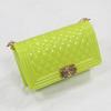 glossy lemon green