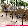 2-2 chair 1 leaf pattern round table D60cm