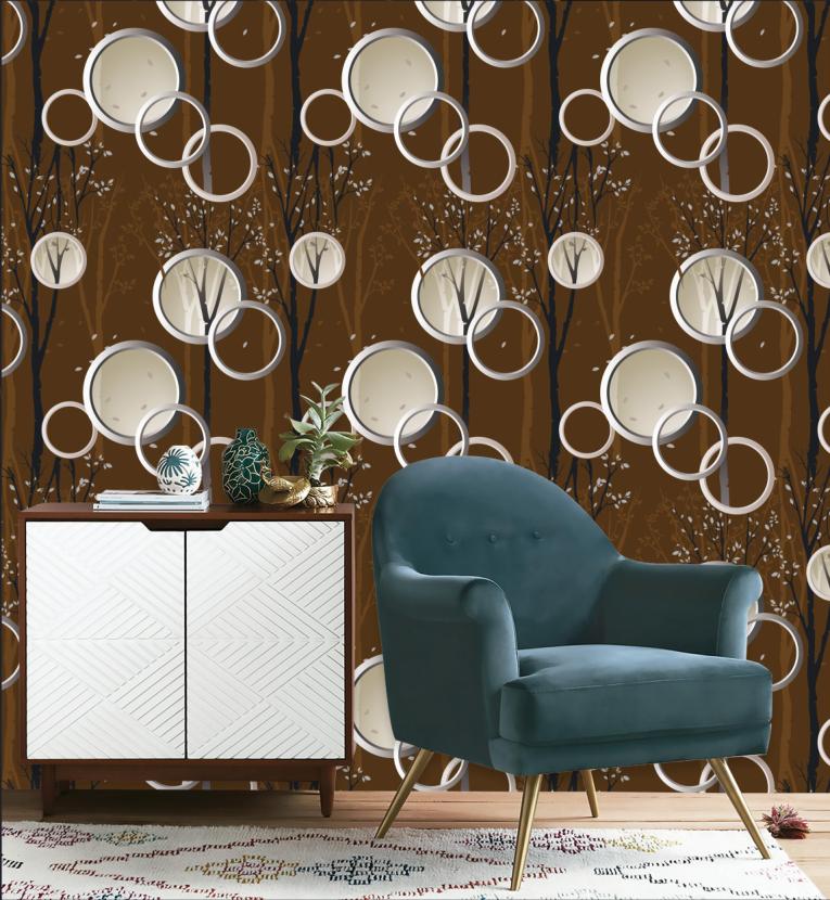 Роскошные украшения для гостиной 3d обои, поставщик Kingmair обои/настенное покрытие
