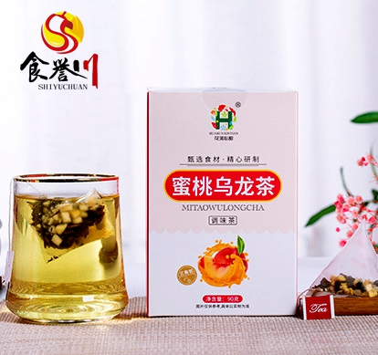 Tea Wholesale Factory Supply Best Nectarina Oolong Tea Bag - 4uTea | 4uTea.com