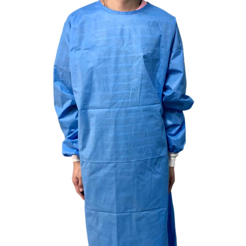 Sterile Nonwoven Disposable Isolation Gowns Graphene Antibacterial Isolation Gown Block Nylon+TPU Anti-static AATCC 42 Level 1 - KingCare | KingCare.net