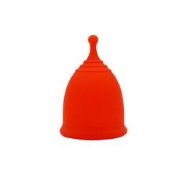 Складная менструальная чаша для женщин в спортивном стиле