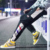 New Hot sale Men Loose Straight Falling feeling Tether Harem pants Wild Slim Handsome Leisure Beam foot Cargo pants
