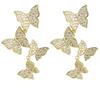 C3 gold earring