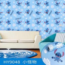 Виниловые наклейки на стену из ПВХ с изображением милых животных, самоклеющиеся обои для детской стены, украшения для дома и спальни(Китай)