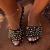 black 2-slippers