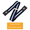 Blue white blue striped (46-72cm)