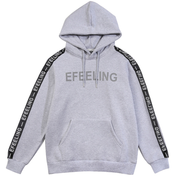Hoodies Men Fashion Letters Sweatshirts Men Fitness Tracksuit Fleece Warm Winter Oversized Hoodies Pullover