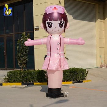 Inflatable Air Waver Nurse Sky Dancer For Events