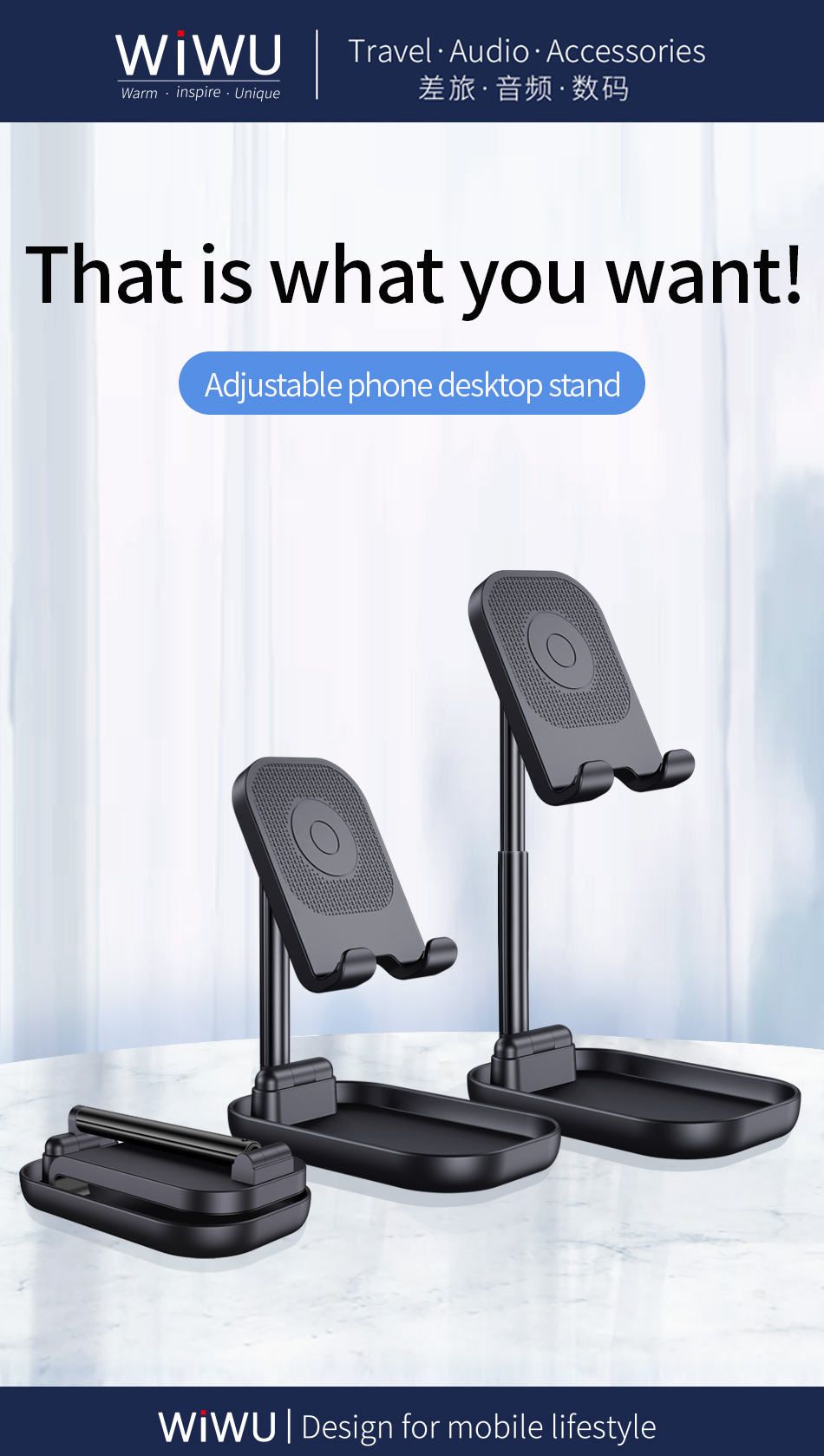 WiWU ZM100手机支架 (https://www.wiwu.net.cn/) 手机支架 第8张