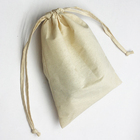 Bag Custom Printed Reusable Fabric Snack Cutlery Bag Organic Small Gift Canvas Cotton Muslin String Handbag Shoe Dust Drawstring Bag
