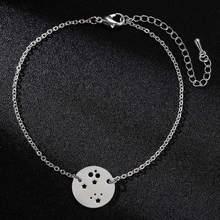 Браслет из нержавеющей стали Todorova, браслеты с шармами в виде кошачьей лапы, слона, женские браслеты со звездами, ювелирные изделия, pulseras mujer(Китай)