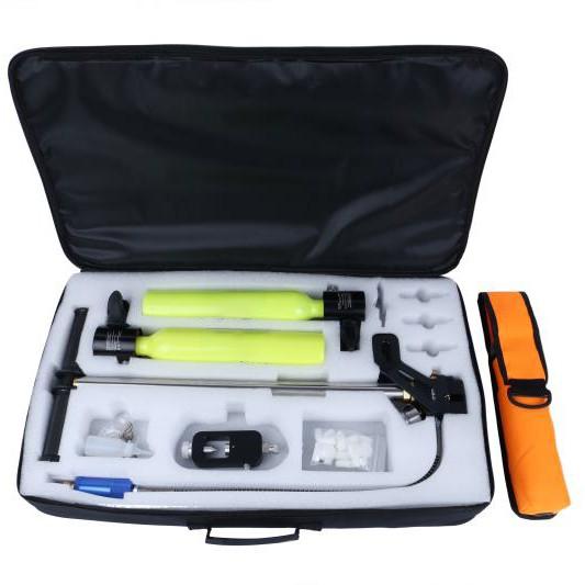 Whole Set Scuba Diving 0.5L Oxygen Tank with High-Pressure Air Pump Respirator Dive Kit