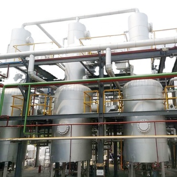 Recycle Waste Engine Oil Used Car Oil To Diesel Fuel Oil Distillation Refinery Machine Plant