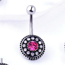 1 шт. Модные женские серьги для девушек, пирсинг для пирсинга пупка, пупка, барная штанга, кольца, ювелирные изделия(Китай)