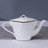 White&Gold pot