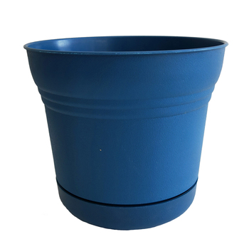 Various size pp material colorful decorative garden plastic flower pot