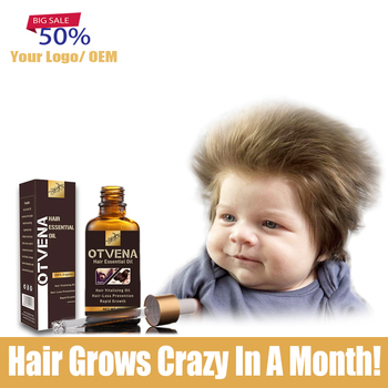 50pcs Create Your Business Herbal Oil Fast Growth Instant Treatment Hair Loss Products Private label