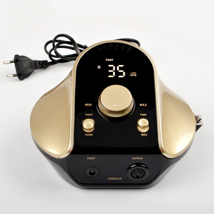 Jimdoa 2021 Новое поступление электрические инструменты для ногтей педаль для педикюра 45 Вт электрическая машинка для маникюра и педикюра дрель для ногтей