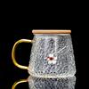 WWooden lid teacup-a plum style