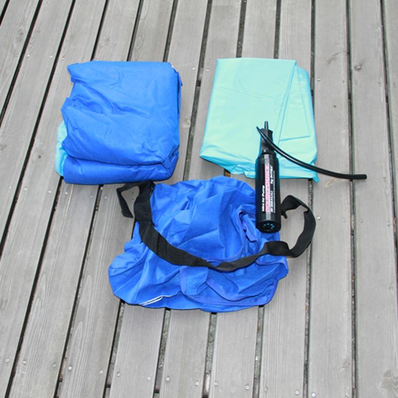 intex 66802 kids outdoor airbed camping inflatable kiddie sleeping bed air mattress with sleeping bag