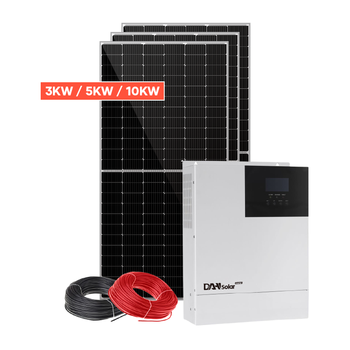 Green energy 3KW solar power system home