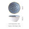 (5) Japanese Octagonal Bowl