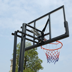 Hoop Basketball Hoop Adjustable M.Dunk Adjustable Glass Basketball Backboard Hoop For Sale