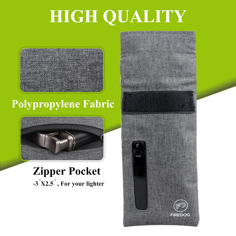 Небольшой Дорожный Чехол для хранения из ткани, с защитой от запаха, 3x6 дюймов